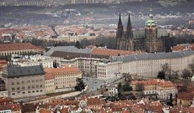 St Vitus Cathedral en Praga Imagen de archivo libre de regalías