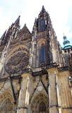 St Vitus Cathedral Exterior Fotografia Stock Libera da Diritti