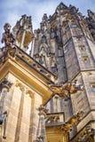 St. Vitus Cathedral Gargoyles Stock Photography