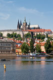St Vitus Cathedral on the hill Stock Photography