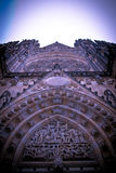 St.Vitus Cathedral, Hradcany Prague Castle Royalty Free Stock Image