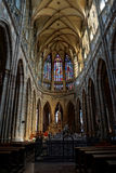 St. Vitus Cathedral Stock Photo