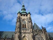 St. Vitus Cathedral, Metropolitan Cathedral of Saints Vitus, Wenceslaus and Adalbert, Prague, Czech Republic royalty free stock images