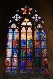 St Vitus Cathedral, monumenti storici, il castello di Praga, repubblica Ceca Immagini Stock Libere da Diritti