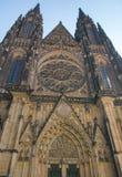 St Vitus Cathedral in Praag Royalty-vrije Stock Afbeeldingen