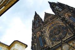 St Vitus Cathedral praag Royalty-vrije Stock Afbeeldingen