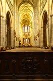 St Vitus Cathedral in Praag, Tsjechische republiek stock fotografie