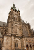 St Vitus Cathedral in Prag Stockbilder