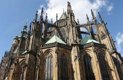St Vitus Cathedral in Prag Lizenzfreies Stockfoto