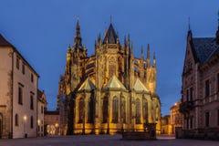 St Vitus Cathedral in Prag Lizenzfreie Stockfotografie