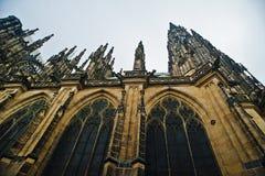 St Vitus Cathedral a Praga Fotografia Stock