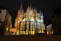 St Vitus Cathedral, Praga Immagine Stock Libera da Diritti