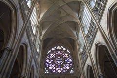 St. Vitus Cathedral, Praga Foto de archivo