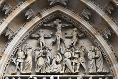 St. Vitus Cathedral, Praga Fotografía de archivo libre de regalías