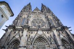 St Vitus Cathedral a Praga Fotografia Stock Libera da Diritti
