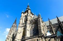 St Vitus Cathedral a Praga Immagine Stock Libera da Diritti
