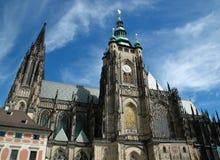 St Vitus Cathedral a Praga Fotografie Stock Libere da Diritti