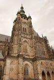 St Vitus Cathedral a Praga Immagini Stock
