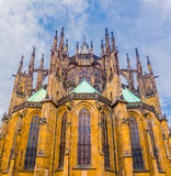 St Vitus Cathedral a Praga Immagini Stock Libere da Diritti