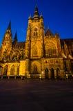 St Vitus Cathedral, Praga, repubblica Ceca Immagini Stock Libere da Diritti