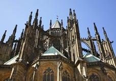 St Vitus Cathedral a Praga Repubblica ceca Immagini Stock Libere da Diritti