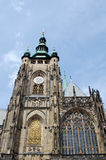 St. Vitus Cathedral at Prague. Photo of St. Vitus Cathedral at Prague, Czech Republic Royalty Free Stock Photos