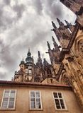 St. Vitus Cathedral Prague stock image