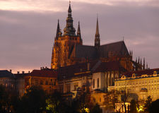 St. Vitus Cathedral in Prague Royalty Free Stock Image
