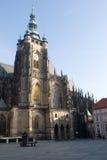 St Vitus Cathedral, Prague Stock Photos