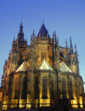 St. Vitus Cathedral in Prague. Royalty Free Stock Image
