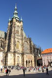 St. Vitus Cathedral in Prague Royalty Free Stock Photography