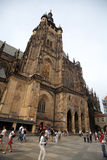 St.Vitus Cathedral in Prague Royalty Free Stock Images