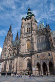 St. Vitus Cathedral. Prague. Gothic Roman Catholic cathedral in Prague Castle Royalty Free Stock Photos