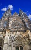 St Vitus Cathedral Prague Fotografia Stock Libera da Diritti