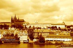 St Vitus Cathedral In Prague Fotografia Stock