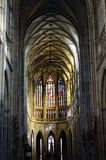 Saint Vitus Cathedral in Prague Stock Photo