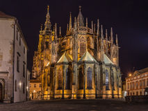 St. Vitus. Cathedral in Prague Stock Photos