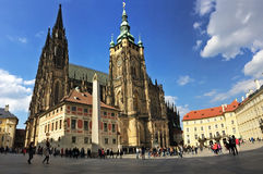 St. Vitus Cathedral in Prague Royalty Free Stock Photos