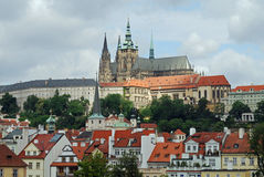 St Vitus Cathedral, Prague Castle, Hradcany, Prague Stock Image