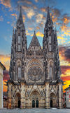 St. Vitus cathedral in Prague Castle in Prague Stock Image