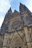 Details of St. Vitus Cathedral in Prague Stock Images