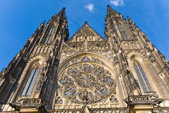 St. Vitus Cathedral , Prague, Czech Republic Royalty Free Stock Images