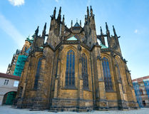 St. Vitus Cathedral , Prague, Czech Republic. St. Vitus Cathedral in Prague (Czech Republic), the Parler's east chancel stock images