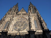 St. Vitus Cathedral in Prague. Czech Republic stock photography