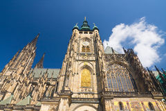 St. Vitus Cathedral in Prague, Czech Republic Stock Photography