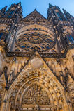 St. Vitus cathedral in Prague Royalty Free Stock Images