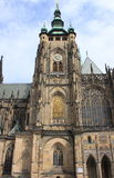 St. Vitus Cathedral in Prague Stock Photo