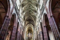 St Vitus Cathedral, Prague, Stock Photo