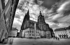 St Vitus Cathedral, Prague, Royalty Free Stock Images