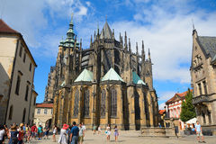 St. Vitus Cathedral, Prague, Czech Republic Royalty Free Stock Image